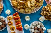 stock photo of reveillon  - Table of brazilian festa junina - JPG