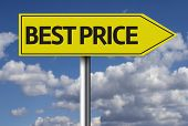 Creative sign with the message - Best Price