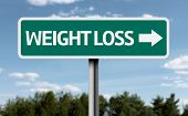Creative sign with the text - Weight Loss