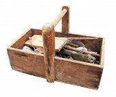 Grungy Aged Tool Box