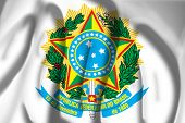 Flag of Coat of arms, Brazil