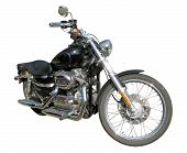 Classic Custom Motorcycle