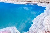 picture of tozeur  - Chott el Djerid salt lake in Tunisia Africa - JPG