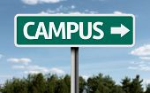 foto of quadrangles  - Campus creative sign - JPG