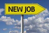 New Job creative sign