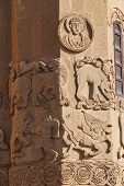 pic of bible story  - Bible stories in the sculpted frieze of Armenian Church of the Holy Cross on Akhtamar Island  - JPG