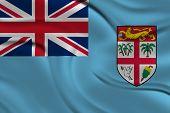 Amazing Flag of Fiji, Oceania
