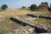 Remains Of The Walls Of Troy