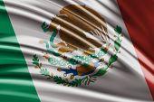 Amazing flag of Mexico