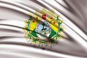 pic of bandeiras  - Amazing Flag of the Coat of arms of Acre Brazil - JPG
