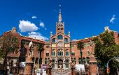 Hospital of the Holy Cross and Saint Paul, (Hospital de la Santa Creu i de Sant Pau), Barcelona, Catalonia, Spain, UNESCO World Heritage Site
