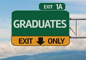 Creative Graduates Exit Only, Road Sign