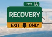 Creative Recovery Exit Only, Road Sign