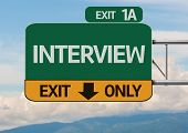 Creative Interview Exit Only, Road Sign