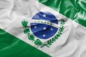 stock photo of bandeiras  - Amazing flag of the State of Parana  - JPG
