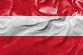 Amazing Flag of Austria, Europe