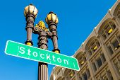 Stockton Street in San Francisco California