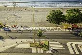 Copacabana Beach, Rio de Janeiro, Brazil - South America
