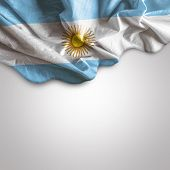 Waving flag of Argentina, Latin America
