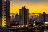 Sunset in Sao Paulo, Brazil - Latin America