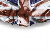 Waving flag of Uk - United Kingdom ( Europe )