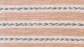 Beige Tweed Fabric Texture As Background