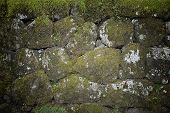 stone wall texture photo for Background