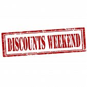 Discounts Weekend stamp