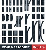 stock photo of four-wheel  - Road Map Toolkit - JPG