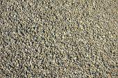 pic of sand gravel  - Pile of green gravel  - JPG