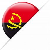 Angola Pocket Flag