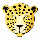 Leopard. Color vector illustration.