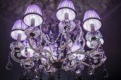 Chrystal chandelier