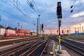 Railway Station Frankfurt Am Main - Germany, Hesse