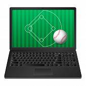 Laptop Baseball