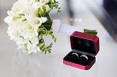 Two Wedding Rings In Nice Box