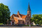 Vytautas' The Great Church In Kaunas, Lithuania