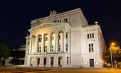 Latvian National Opera In Riga