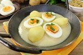 Mustard Eggs