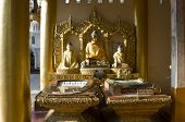 Three Golden Buddha