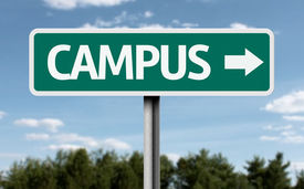 foto of quadrangles  - Campus creative sign - JPG