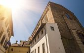 picture of carmelite  - Santa Maria del Carmine is a church of the Carmelite Order in the Oltrarno district of Florence Italy - JPG