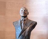 Statue Of San Francisco Former Mayor Willie Brown