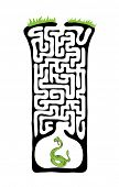 image of maze  - Vector Maze - JPG