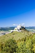 stock photo of castle  - Spissky Castle - JPG