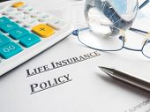 foto of policy  - life insurance policy - JPG