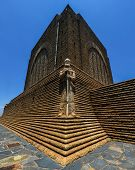 picture of hilltop  - Monument to Piet Retief at Voortrekker Monument - JPG