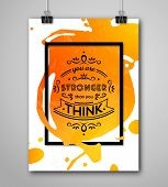 Постер, плакат: Motivational Poster You Are Stronger Than You Think