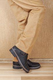 stock photo of khakis  - Men - JPG