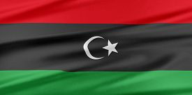 image of libya  - Libya Flag - JPG